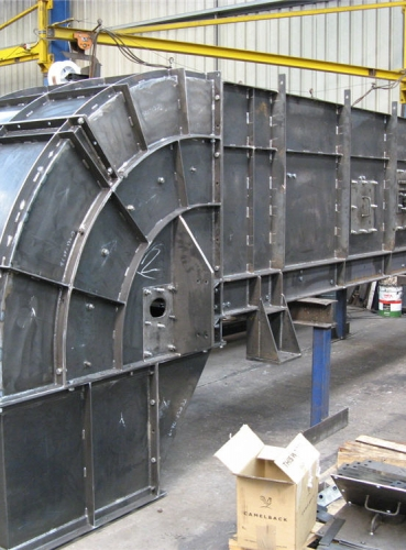 Side Wall Conveyor Fabrication