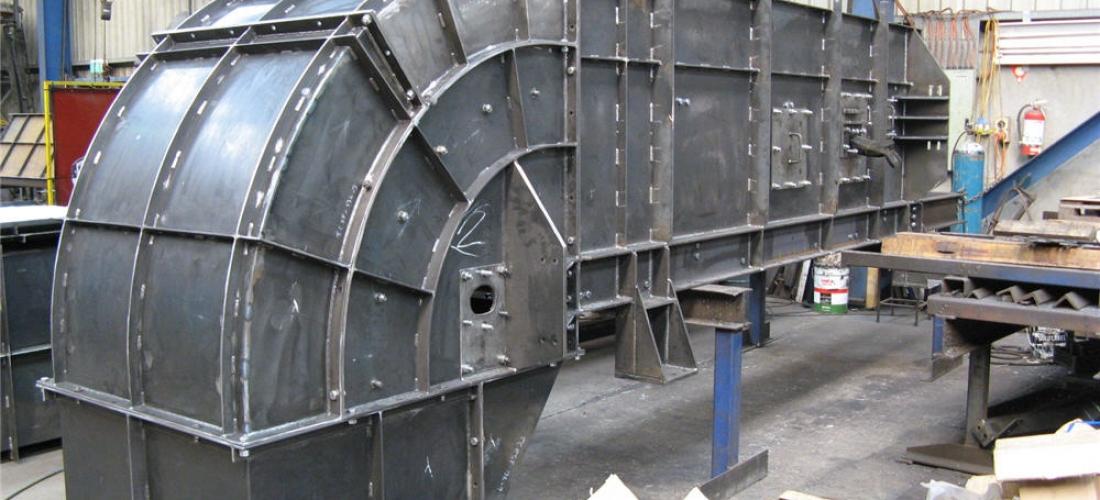 Side Wall Conveyor Fabrication