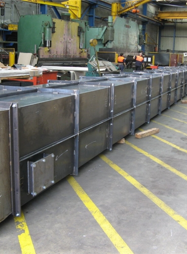 Side Wall Conveyor Casings